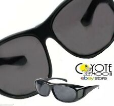 HD Sunglasses overglasses Fits Over Glasses UV 400 Protection Black