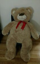 "54"" HUGE Teddy Bear Valentines Day Gift I LOVE YOU Chrisha Playful TeddyBear BIG"
