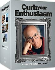 Curb Your Enthusiasm Season 1+2+3+4+5+6+7+8 17er [DVD] HBO Larry David