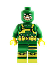 Custom Minifigure Hydra Agent Green Captain America Printed on LEGO Parts