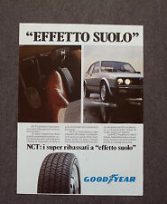 F941 - Advertising Pubblicità - 1983 - GOODYEAR NCT