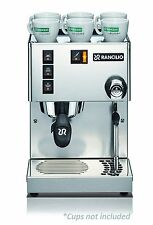 Rancilio Silvia Espresso Coffee Machine Iron Frame Stainless Steel Side 11.4