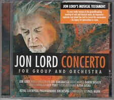 Jon Lord - Concerto For Group And Orchestra , CD Neu