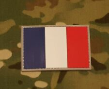 France French Flag Morale Patch PVC Rubber Francais