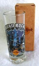 KUALA LUMPUR Tall Shot Glass HARD ROCK CAFE Shooter New in Box Jigger
