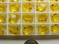 144 PIECES SWAROVSKI CRYSTAL BEADS #5523 - 12MM - SUNFLOWER - FACTORY PACKAGE