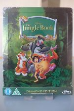 Blu ray steelbook Disney The Jungle Book Zavvi exclusive New&Sealed Neuf sans VF