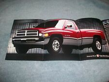 """1993 Dodge RAM 1500 Vintage Center spread Vintage Ad """"The Rules Have Changed"""""""