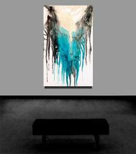 Large Original Abstract Signed Resin Painting Tara Baden Modern Fine Art Canvas