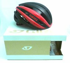 Giro Synthe Cycling Helmet Red Matte Black Medium