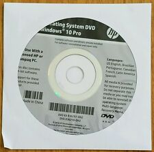Windows 10 Pro 64bit Recovery DVD,  No Key!