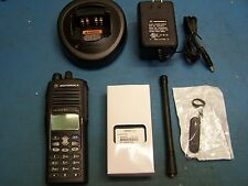 Motorola HT1550XLS VHF 136-174MHz  160 Channel AAH25KDN9DU8AN  Mint Tested