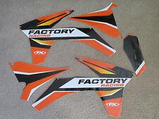 FX GRAPHICS KTM SX SXF 150 250 350 450  2011  2012 &  2012  2013 EXC XCW XCWF