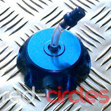 BLUE ALLOY PIT DIRT BIKE FUEL CAP PETROL TANK 150cc 160cc PITBIKE