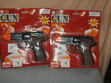 2  Brand New In the Package Toy Diecast Metal Cap Guns