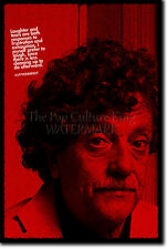 KURT VONNEGUT ART PRINT PHOTO POSTER GIFT QUOTE SLAUGHTERHOUSE FIVE