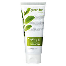 [THE FACE SHOP] Phyto Powder in Cleansing Foam Green Tea (170ml)