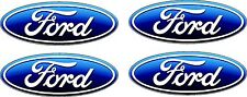"4 FORD Oval Decals  5""  FREE SHIPPING"