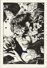 BERNIE WRIGHTSON SUPERMAN 1984 DC COMIC VINTAGE ART PRINT MAN OF STEEL by BERNI