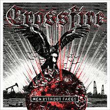 "Crossfire - Men without faces 7"" + MP3 Code NEU Sreetcore Oi HC Discipline Punk"
