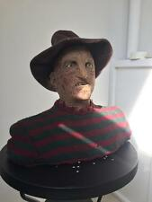 Extremely Rare! Nightmare on Elm Street Freddy Krueger Lifesize Talking Bust