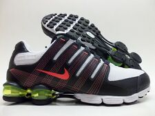 NIKE AIR SHOX NZ 2.0 RUNNING WHITE/ALARMING SIZE WOMEN'S 8 [409780-104]