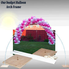 WEDDING & ALL OCCASIONS BALLOON ARCH FRAME, USE AIR FILLED BALLOONS