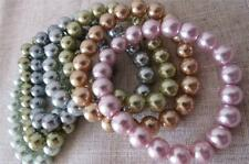 Kenneth Jay Lane sette multicolore pastello Faux Pearl STRETCH BRACCIALI