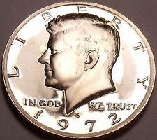 United States Proof 1972-S Kennedy Half Dollar~We Have Kennedys~Free Shipping