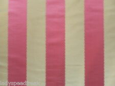 Zoffany Curtain Fabric BOHEMIA 1m Fuchsia Pink Stripe Design 100cm