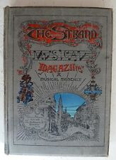 Vintage Book 1895: The Strand Musical Magazine Music / History / Scores Good