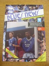 28/09/1991 Birmingham City v Preston North End  (One Possible Autograph Inside B