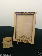 Alternative Wooden MDF Rectangle Shape Guestbook Dropbox Wedding Birthday Etc