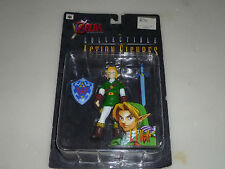 NEW ON CARD NINTENDO ZELDA OCARINA OF TIME COLLECTIBLE ACTION FIGURE NOC LINK