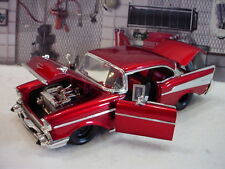 1957 Chevrolet Pro-Street Jada Tubbed Car with black wheels 1:24th scale