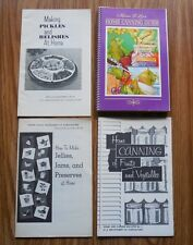 Vintage Canning Jams Relishes Books ~ Miriam B Loos Home Canning Guide Cookbook