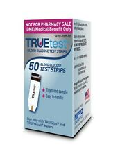 TRUEtest  Blood Glucose 50 Test Strips (Special Price) Exp: 04/10/2019