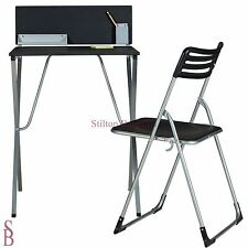 Office-in-a-Box Desk and Chair Set - Black - BNIP - student office in a box