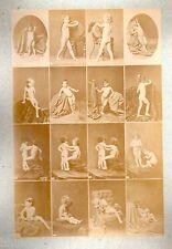C11 Calavas photo étude pour peintre vintage albumen print albuminé nus femme