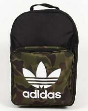 ADIDAS Originals Classico Zaino mimetico in Nero-bag
