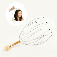 1× New Mini Portable Head Neck Scalp Massager Equipment Stress Relax