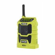 Ryobi ONE+ BLUETOOTH RADIO 18V Wireless, USB Charger Port & 20 Hours Run Time