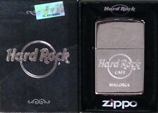 Hard Rock Cafe MALLORCA New Silver Chrome Finish ZIPPO Lighter New Box w/Sticker