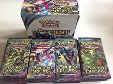 18x Pokemon XY ANCIENT ORIGINS Sealed Booster Packs **WEIGHED/SCALED**