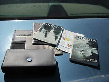 2000-2001-2002 LINCOLN LS OWNER MANUALS