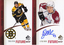 10-11 SP Authentic Justin Mercier /999 Auto Rookie Future Watch RC