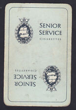 Senior Service Cigarettes,Single Swap playing Card