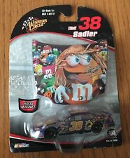 VINTAGE #38 ELLIOT SADLER WINNERS CIRCLE NASCAR 1:64 M&M HOOD MAGNET *NEW