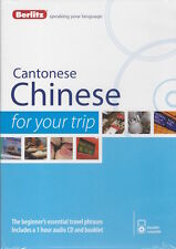 Berlitz Cantonese Chinese For Your Trip Audio CD *IN STOCK IN MELBOURNE - NEW*