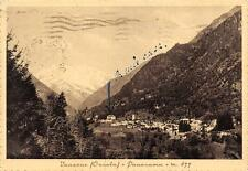 3567) VANZONE (OSSOLA, VERBANIA) PANORAMA.  VIAGGIATA NEL 1935.
